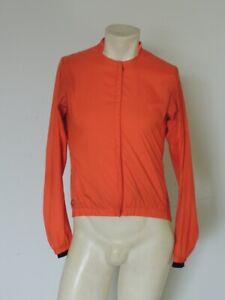 RAPHA Men's Orange Commuter Rain Jacket Button Pocket STAINS Size SMALL