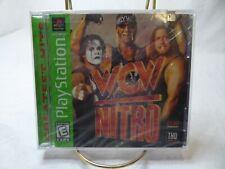 WCW Nitro (Sony PlayStation 1, 1998) Greatest hits label new sealed