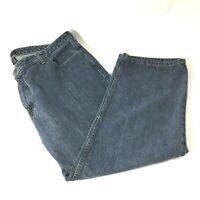 Van Heusen Mens Size 42 x 29 Jeans Medium Wash Denim   K