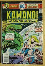 "DC Comics ""KAMANDI"" THE LAST BOY ON EARTH  # 39, Photos Show Great Condition"