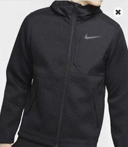 Nike Therma Full-Zip Men's Hooded Training Jacket Black Size XXL BV3998-011