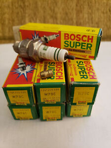NOS Bosch W7BC Spark Plug 0 241 235 585, made in Germany