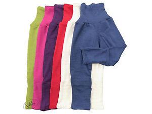 Baby-Hose mit Kratzschutz, Wolle/Seide, Cosilana, uni, Öko, neu