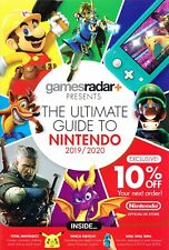 GAMES RADAR+ The Ultimate Guide to Nintendo 2019/20 SWITCH RingFit AMIIBO @New@