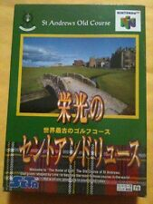 NEW ST Saint Andrew's Old Course Golf Game for Nintendo 64 N64 for Japanese Ver
