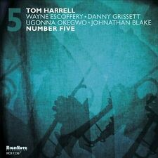 "New CD Tom Harrell ""Number Five"" Wayne Escoffery (High Note) free US shipping"