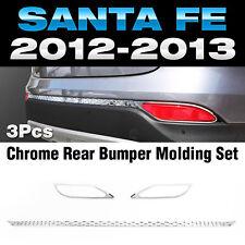 Chrome Rear Bumper Reflecter Moldings K-518 for HYUNDAI 2013-2016 Santa Fe DM