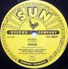 ORION 45 Honey SUN label UK pressing