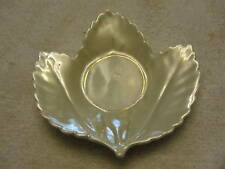 VERY OLD LEAF PLATE,SAUCER VTG CHINA