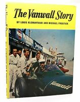 Louis Klemantaski Michael Frostick THE VANWALL STORY  1st Edition 1st Printing