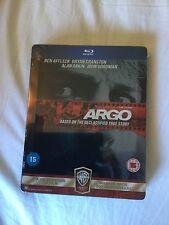 Argo Steelbook, UK import, region free