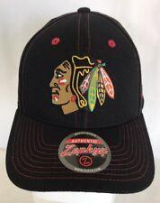 54cc740ec23 Chicago Blackhawks NHL Adult Snapback Cap Hat Black Zephyr NWT