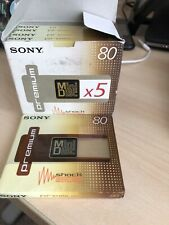 Sony MD80 80 Minutes Recordable Mini Disc Premium