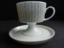 Kaffeetasse mit Untertasse, ROSENTHAL, Composition Dekor Secunda, Tapio Wirkkala