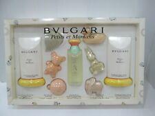 """ BULGARI - PETITS ET MAMANS "" Eau senz'alcool 100ml+Body Lotion+Gel Doccia+Soap"