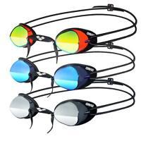 Arena Swedix Mirror Adult Racing UV Anti-Fog Swimming Goggles New