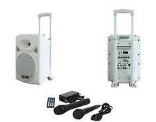 Altavoz Sistema de sonido móvil PA CAJA BLUETOOTH USB Micrófono