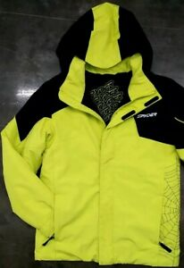 Spyder Web 3M Thinsulate Insulation Snow Jacket Youth 16, Mens S? Wmns M? VEUC