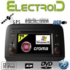 "AUTORADIO PER FIAT CROMA 2005-2012 WC-FC6068 2 DIN 7"" GPS DVD SD USB BLUETOOTH"
