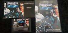 Robocop versus The Terminator Sega megadrive game complete Genesis classic vs