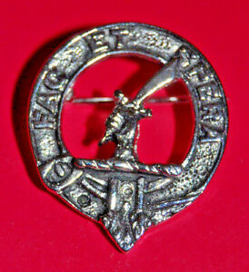 Small Clan Mathieson badge or brooch