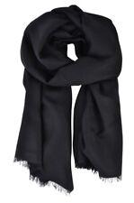 Emporio Armani  Schal  Schwarz Wolle   175 cm x 64 cm