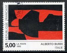 STAMP / TIMBRE FRANCE OBLITERE N° 2780 TABLEAU ART / ALBERTO BURRI