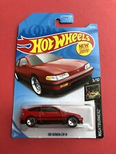 2019 Hot wheels D-Case 1988 HONDA CR-X  #49/250 -DD5 Wheels JDM Classic! FYB70