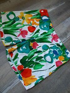 Vintage Surf Line Hawaii Original Jams Floral Garden Pattern Size XL 100% Cotton