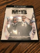 Men in Black: International (4K Uhd 2019, 2-Disc) No Blu Ray or Digital