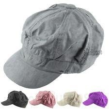 efcf680a3c4c5 Mens Womens Blend Baker Boy Peaked Cap Newsboy Hat Beret Baggy Visor Sun  Painter