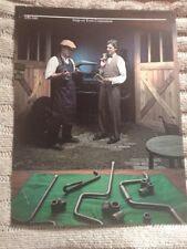 Snap On Tools Collectable Vintage Print 65th Anniversary 20s Snap On DealerW/Trk