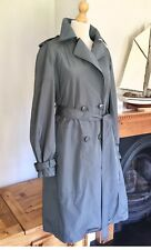 Stella Mccartney Designer Mercure Gris trench coat, EU 42-UK 14