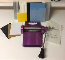 SpellBinders Wizard Machine, Comes with Rubber Mats, Spacer Plates...See Photos