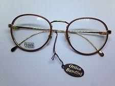 GIANFRANCO FERRE occhiali da vista vintage montatura in pelle GFF184 glasses