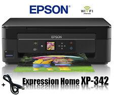 EPSON XP-342 MULTIFUNKTIONS DRUCKER SCANNER KOPIERER WIFI WLAN AIRPRINT * NEU *