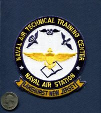 NATTC NAVAL AIR TRAINING CENTER NAS LAKEHURST US NAVY Base Squadron Jacket Patch