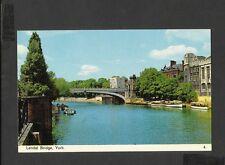 Bamforth Colour Postcard Lendal Bridge York