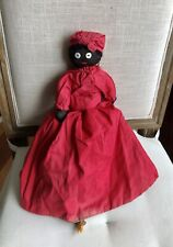 Vintage Topsy Turvy Flip Over Doll Black Americana Hand Stitched