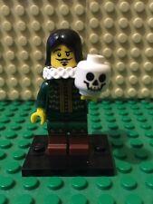 Genuine Lego Minifigures Series 8 Thespian  Hamlet Shakespeare Actor