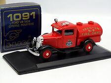 Eligor 1/43 - Ford V8 1934 Citerne Trenton Pompiers