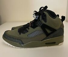 Nike Air Jordan Spizike Flight Jacket Mens Sz 10 Olive Canvas Black 315371-300