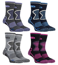 Storm Bloc - 2 Pack Womens Thick Warm Heavy Wool Blend Thermal Hiking Boot Socks