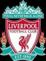 Liverpool FC Futbol Soccer Decal / Sticker 10 Sizes!!