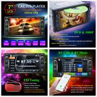 7'' HD Auto Car Audio Stereo Multimedia DVD Player Bluetooth MP5 FM AUX TF Card