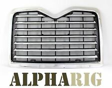 Fit Mack Vision Pinnacle CX 2002 - 2009 Chrome Front Grille Grill w/ Bug Screen
