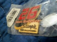 RARE/SHARPIE JAMIE McMURRAY #26 HAT PIN/2 FLAG PATCHES & 2 AMERICAN FLAG PINS!