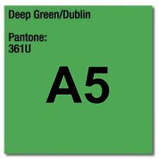 80 gsm A5 Coloraction printer & photocopier paper 500 sheets DEEP GREEN DUBLIN