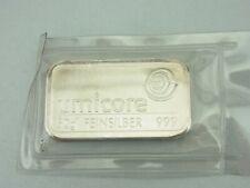 Silberbarren - 50 Gramm 999 Silber - Umicore - ║ M438