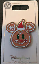 Disney Parks Christmas Mickey Mouse Gingerbread Cookie Pin